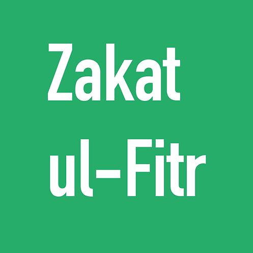 Zakat-ul-Fitr (Per Person)