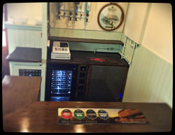 The new bar in our Function Room