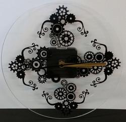 Engrenages noir