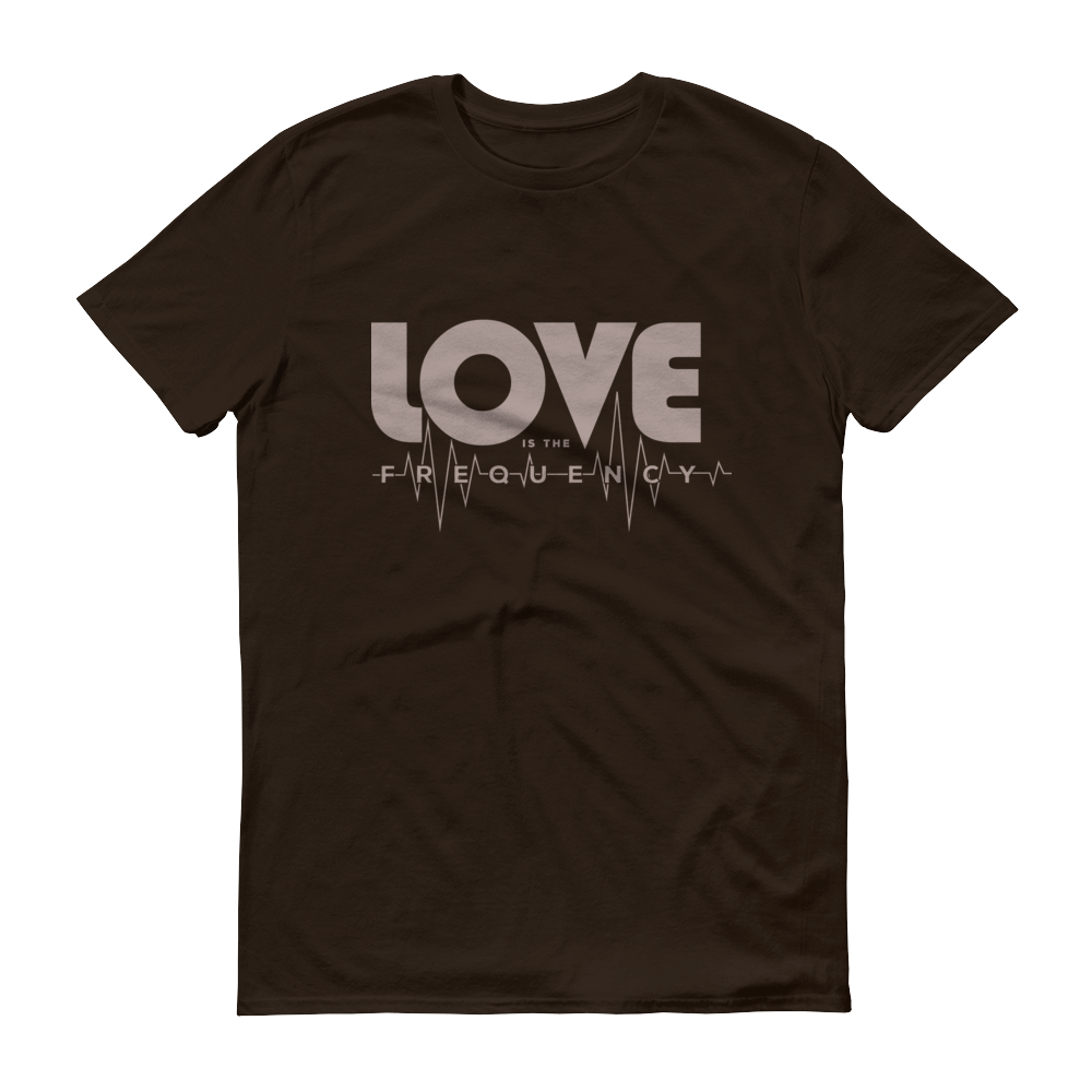 Love Is The Frequency Tee series