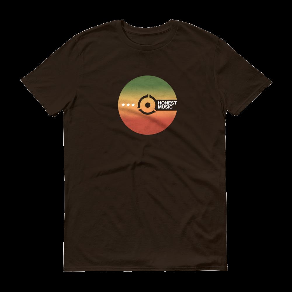 Honest Music Logo T-shirt (Chocolate