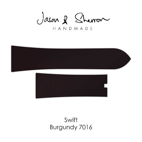 Swift Burgundy 7016: Watch Strap Customisation