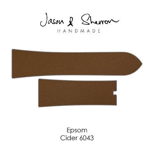 Epsom Cider 6043: Watch Strap Customisation