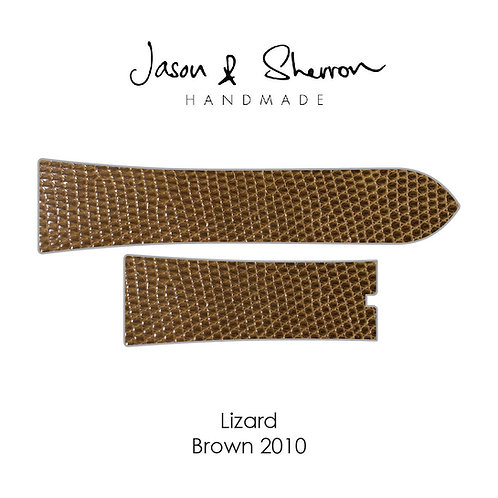 Lizard Brown 2010: Watch Strap Customisation