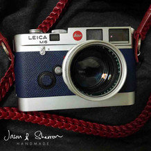 Leica M6 Silver reskined with Epsom Mari