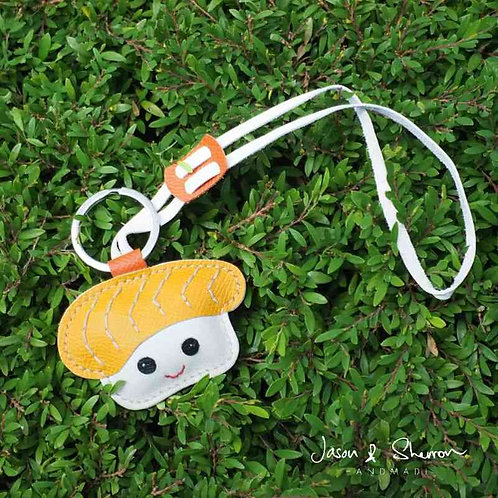 Sushi: Leather Bag Charm
