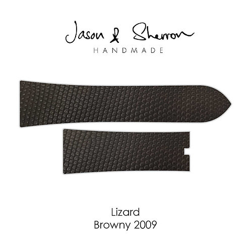 Lizard Browny 2009: Watch Strap Customisation