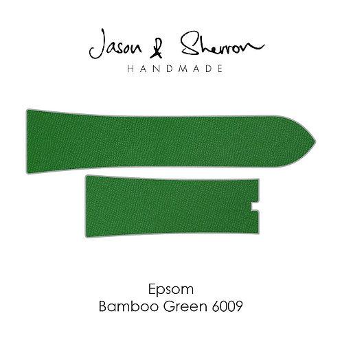 Epsom Bamboo Green 6009: Watch Strap Customisation