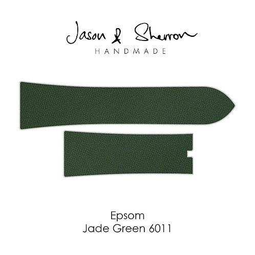 Epsom Jade Green 6011: Watch Strap Customisation