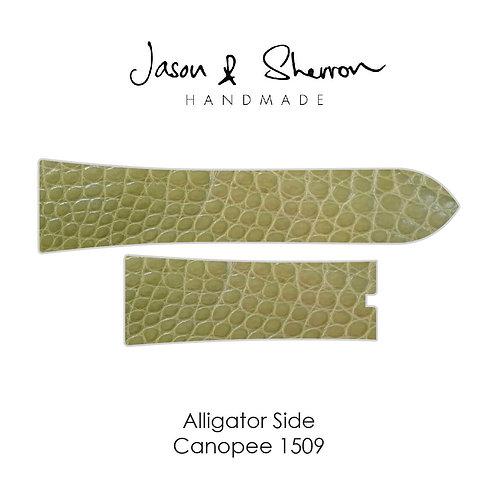 Alligator Side Canopee 1509: Watch Strap Customisation