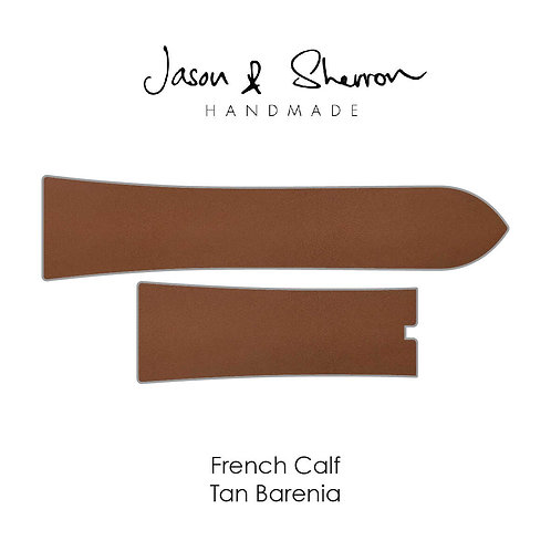 French Calf Tan Barenia: Watch Strap Customisation