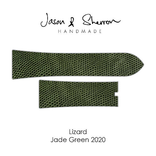 Lizard Jade Green 2020: Watch Strap Customisation