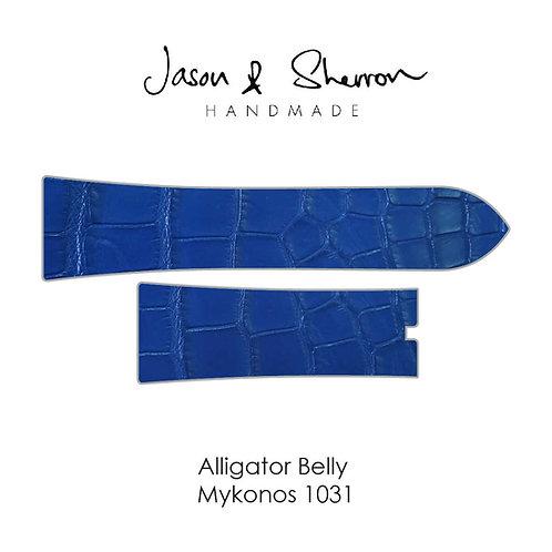 Alligator Belly Mykonos 1031: Watch Strap Customisation