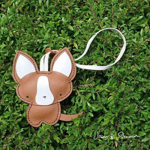 Chihuahua: Leather Bag Charm