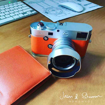 Leica M9P Silver reskined with Epsom VIT