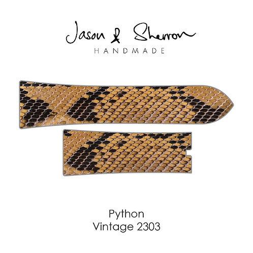 Python Vintage 2303: Watch Strap Customisation