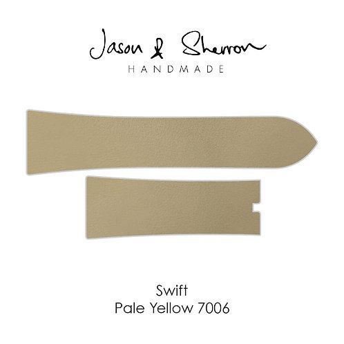 Swift Pale Yellow 7006: Watch Strap Customisation