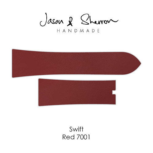 Swift Red 7001: Watch Strap Customisation