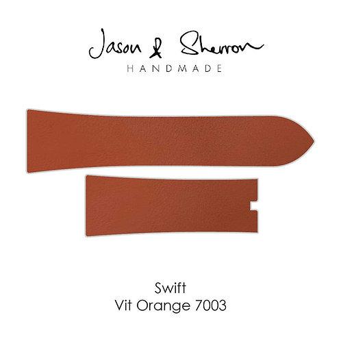 Swift VIT Orange 7003: Watch Strap Customisation