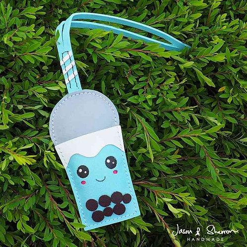 Boba Tea: Leather Bag Charm