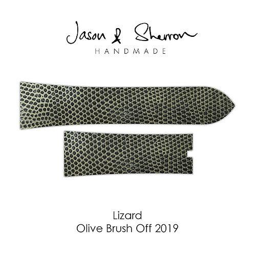 Lizard Olive Brush Off 2019: Watch Strap Customisation