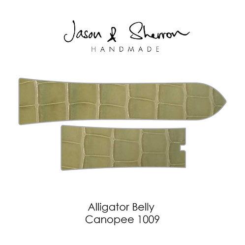 Alligator Belly Canopee 1009: Watch Strap Customisation