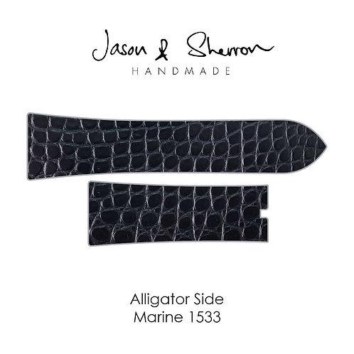 Alligator Side Marine 1533: Watch Strap Customisation