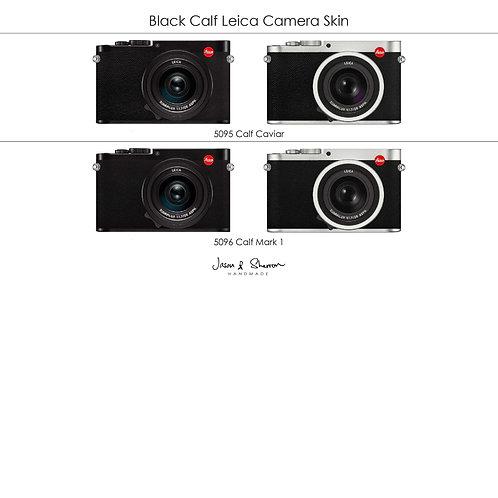 Black Calf: Leica Camera Skin