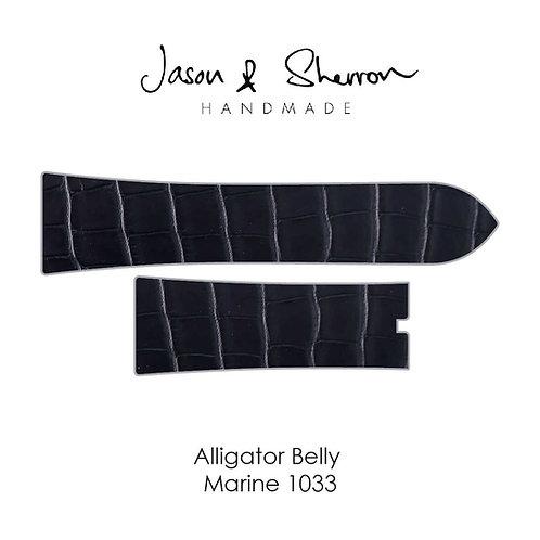Alligator Belly Marine 1033: Watch Strap Customisation