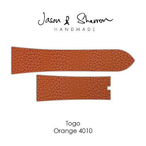 Togo Orange 4010: Watch Strap Customisation