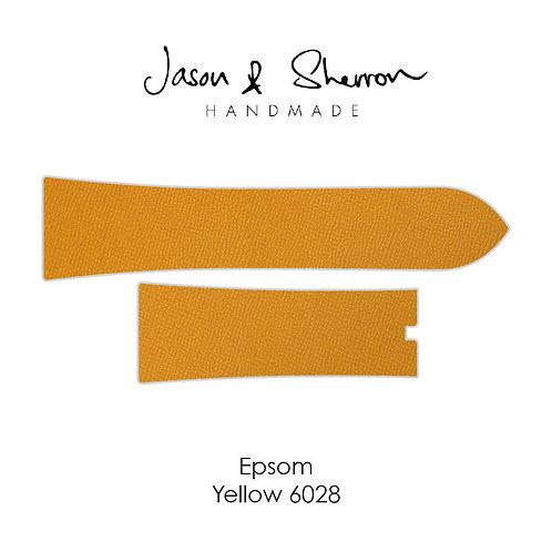Epsom Yellow 6028: Watch Strap Customisation
