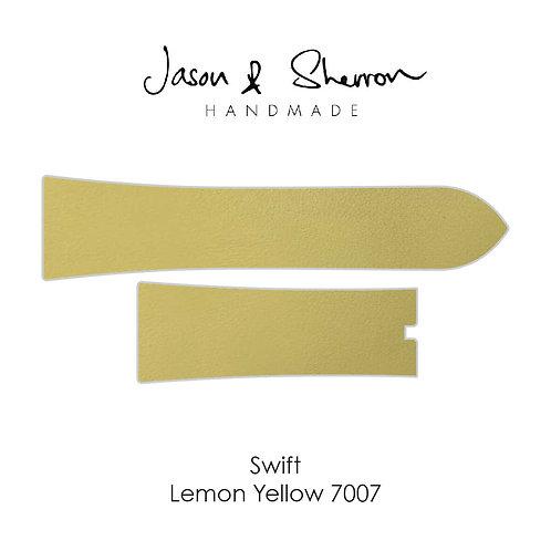 Swift Lemon Yellow 7007: Watch Strap Customisation