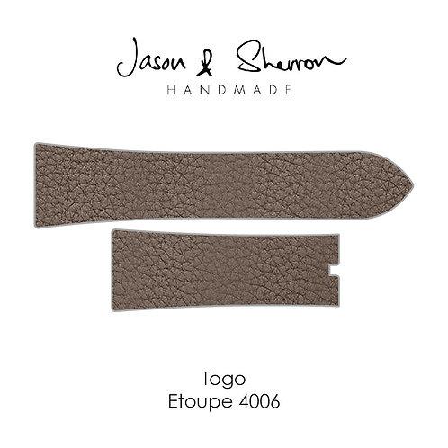 Togo Etoupe 4006: Watch Strap Customisation