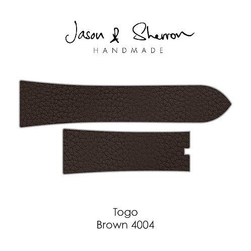 Togo Brown 4004: Watch Strap Customisation