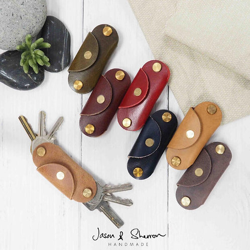 Swiss Knife: Key Pouch (Italian Calf)