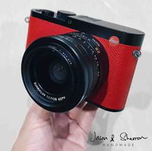 Leica Q Black reskined with Epsom VIF Re