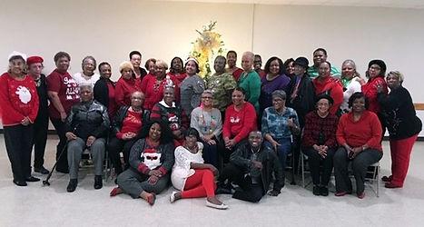 """2019 """"55 and Alive"""" Christmas Party"""