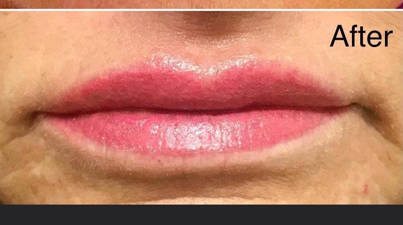 Lip Color Enhancement/Sparkle Lips