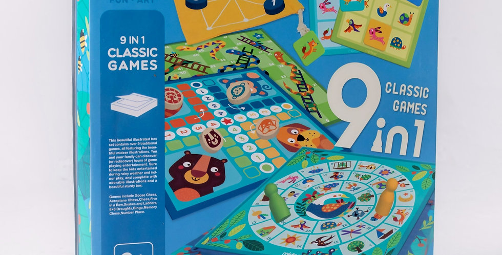 Набор настольных классических игр «9 в 1»