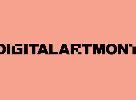 #Digital Art Month New York