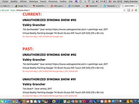 Unauthorized show SF Moma San Francisco, USA