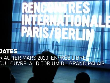 Rencontres Paris - Berlin Louvre