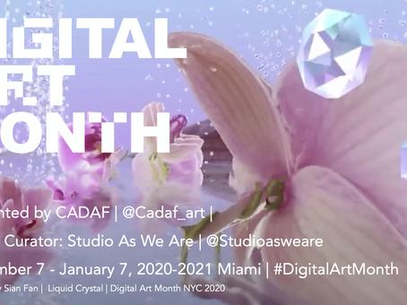 Digital Art Month Miami