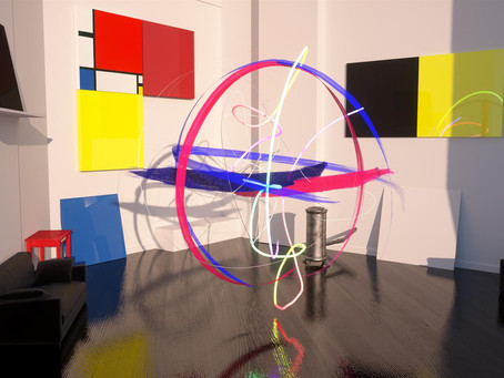 """Orb after Mondriaan"" at Laval Virtual"