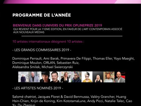 Opline Prize 2019