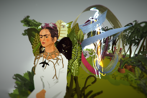 """""""Orb after Frida Kahlo"""""""