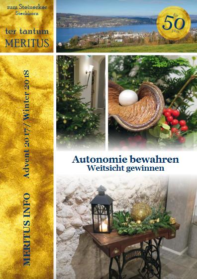 Meritus Info - Advent 2017