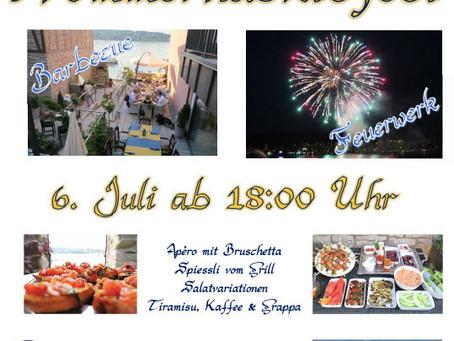 Sommernachtsfest am 6. Juli