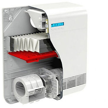 Вентиляционная установка TION O2 Base в разрезе. ЛДС-МАРКЕТ (ИП Горбачев Е.С.) г.Бугульма https://www.lds-market.com