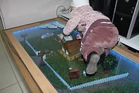 Стеклянныей пол в Бугульме ул.Баумана 14. ИП Горбачев Е.С. https://www.lds-market.com/steklyannyye-poly